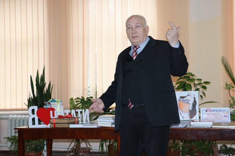 Видатний український письменник, лауреат Шевченківської премії наш земляк Богдан Сушинський
